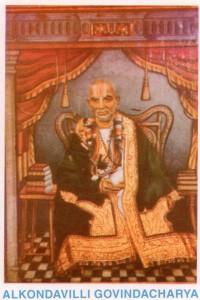 Sri Alkondavilli Govindacharya Swamy _web